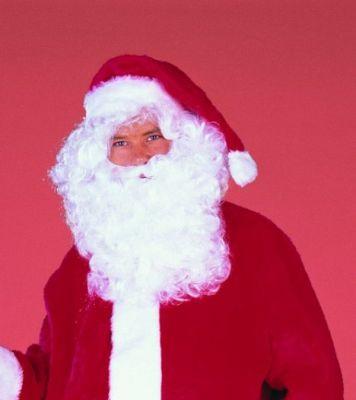 Nikolaus Weihnachtsmann Bart / Perücke