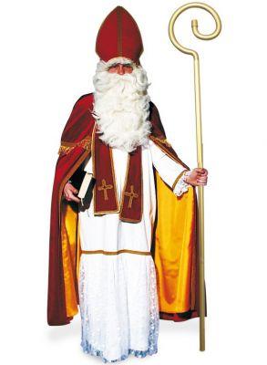 Sankt Nikolaus Bischof Kostüm 4-tlg. Weinhnachtsmann