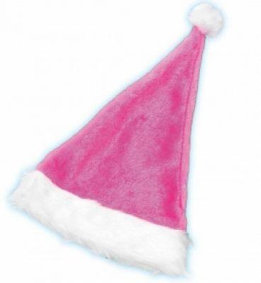 Weihnachtsfrau Nikolaus Mütze pink Weihnachtsfeier