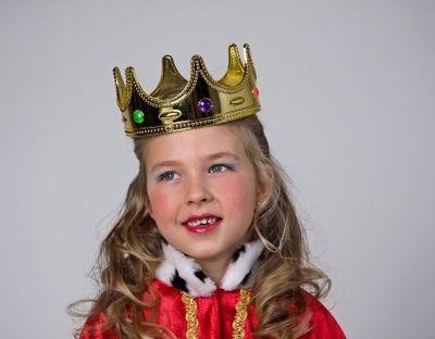 Königskrone für Kinder Kopfbedeckung Kinderkrone Zubehör Prinz und König