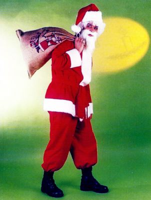 Nikolaus Santa Claus Nikolausanzug Weihnachtsmann + Nikolausmütze