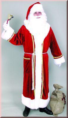 Nikolaus Nikolausmantel Weihnachtsmann Weihnachtsmannmantel Santa