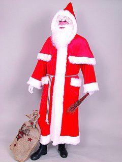 Nikolausmantel Weihnachtsmannmantel Nikolaus Weihnachtsman Santa Claus