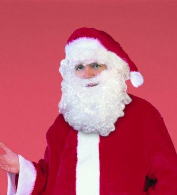 Nikolaus Weihnachtsmann Out-Fit Bart / Perücke / Mütze