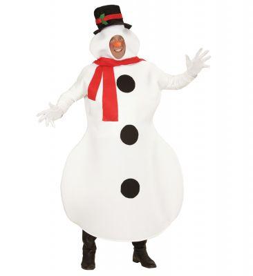 Schneemann Schneemannkostüm Snowmen mit Schal und Zylinder