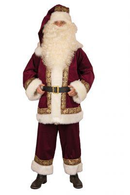 Nikolausanzug Weihnachtsmannkostüm aus Kordsamt Made in Germany