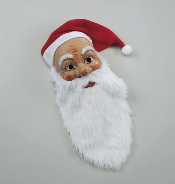nikolaus weihnachtsmann maske mit m tze u bart nikolaus24 nikolaus und weihnachtsmannkost me. Black Bedroom Furniture Sets. Home Design Ideas