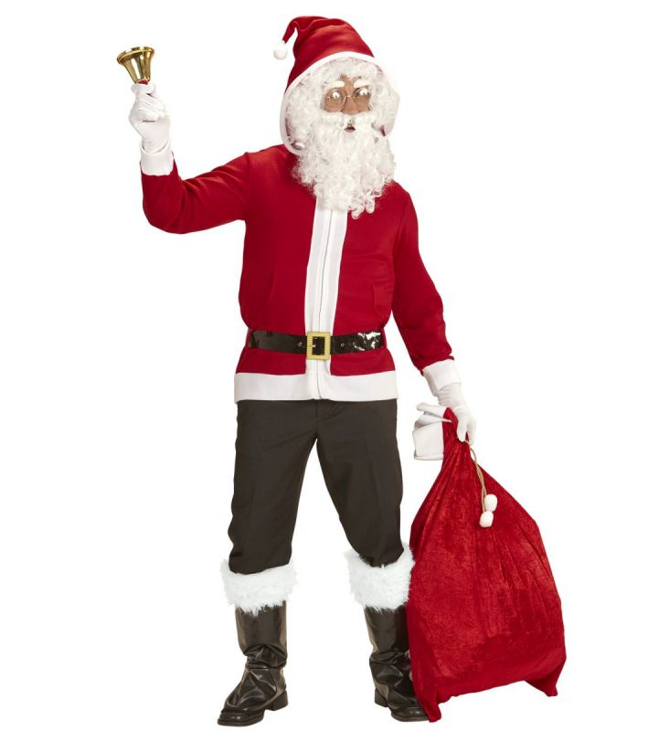 nikolaus weihnachtsmann jacke mit kapuze weihnachtsfeier. Black Bedroom Furniture Sets. Home Design Ideas