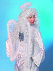 Engelsflügel Engelflügel Marabou mit Heiligenschein Christkind
