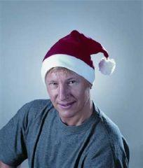 Nikolaus Weihnachtsmann Mütze Flanell Santa Claus