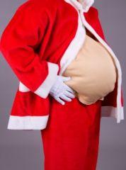 Weihnachtsmann Nikolaus Bauch Karneval Fasching Party
