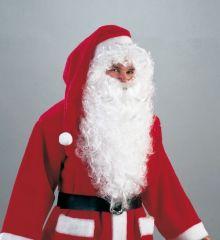 Weihnachtsmann Nikolaus langer Rauschebart