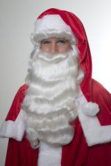 Nikolaus Santa Claus Perücke Bart Weihnachtsmannperücke