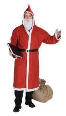 Jutestiefel bedruckt Weihnachtsmann Nikolaus