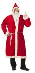 Nikolausmantel Plüsch Santa Claus Weihnachtsmannmantel Verkleidung