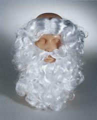 Nikolaus Weihnachtsmann Bart mit Haaransatz