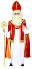 Bischof Sankt Nikolaus Weihnachstmann Hochwertiges Kostüm O