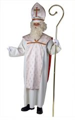Bischofsgewand komplett Weihnachtskostüm Heiligabend Sankt Nikolaus