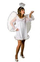 Engelskleid Serafina Christkind Damenkostüm Weihnachten oder Heiligabend