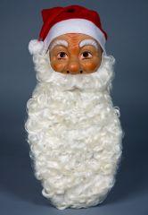 Nikolausbart Weihnachtsmannbart flachsblond Rauschebart Weihnachten