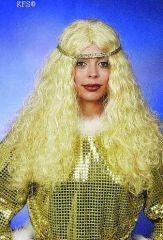 Engelperücke Engel Christkind Christkindperücke blond oder weiß