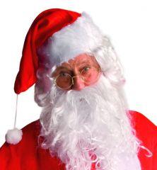 Party Brille Nikolausbrille Kostümbrille Accessoires Zauberer Zubehör