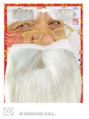 Nikolaus Weihnachtsmann Nikolausbart Weihnachtsmannbart + Augenbrauen