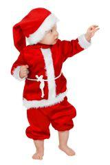 Weihnachtsmann Weihnachtsmannmantel blau Nikolaus Väterchen Frost XL