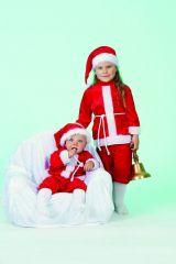 Nikolaus Weihnachtsmann Baby Kostüm