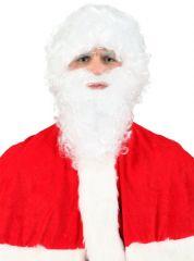 Nikolaus Weihnachtsmann Bart + Perücke Weihnachtsmannbart Santa Claus