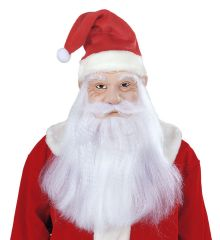 Nikolausmaske Weihnachtsmannmaske Santa Claus echtwirkend