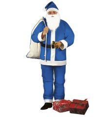 Nikolaus Weihnachtsmann blau Väterchen Frost blauer Weihnachtsmann
