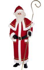 Qualitativ hochwertiger Mantel Nikolaus Weihnachtsmann Deutsche Herstellung
