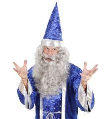 grauer Bart Nikolaus Weihnachtsmann Zauberer Seemann