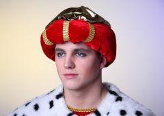 Turban Orient hochwertiger Samt Karneval Fasching