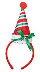Haarreif Hut Jingle Bells Weihnachten Weihnachtsfeier Nikolaus