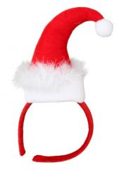 Miss Santa Weihnachten Nikolaus Haarreif Heiligabend Feier