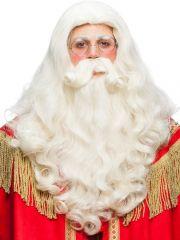 Nikolaus Set Bart und Perücke Weihnachten Weihnachtsmann High Quälity