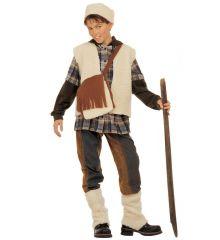 Hirtenjunge Schäfer Krippenspiel Hirte Schafshirte Kostüm Kinder