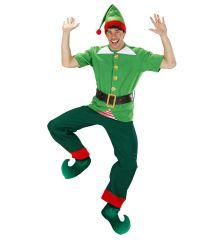 Elf Weihnachtself Hofnarr Joker Wichtel Wichtelschuhe Überzieher