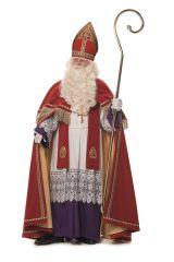 Hochwertiges edeles Professionelles Bischof Sankt Nikolaus Komplett Gewand