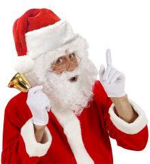 Nikolausmütze Weihnachtsmannmütze Plüschmütze Weihnachtsmarkt