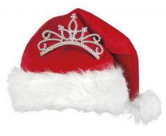 Weihnachtsfrau Nikoläusin Miss Santa Nikolausmütze Weihnachtsfeier