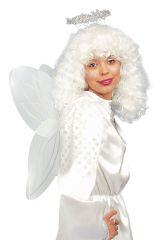 Engel Set Engelflügel mit Haarreif Heiligenschein Christkind Angel