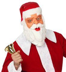 Nikolaus Nikolausmaske Weihnachtsmann Latexmaske Santa Claus