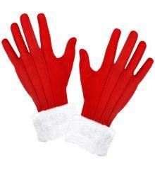 Rote Handschuhe Nikolaus Nikolaushandschuhe Weihnachtsmannhandschuhe