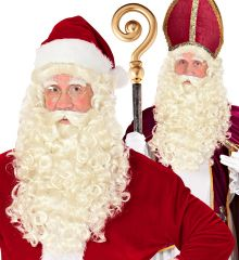 Nikolauskostüm Nikolausmantel Weihnachtsmannmantel Samtmantel Santa Claus